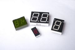 Digital displays Stock Image
