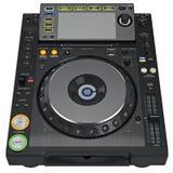 Digital dj music turntable mixer Stock Images