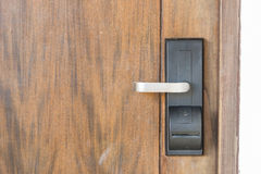 Digital door Royalty Free Stock Photos