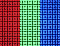 Digital dot colourful Pattern on screen Technology Abstract background. Digital dot colourful Pattern on screen Media Technology Abstract background stock photography