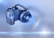 Digital DSLR camera Royalty Free Stock Image