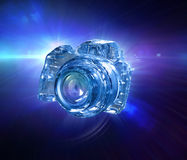 Digital DSLR camera Stock Photography