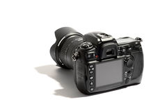 Digital dslr camera and lens Royalty Free Stock Photography