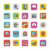 Digital e le icone di vettore di vendita di Internet hanno messo 3 royalty illustrazione gratis