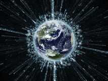 Digital Earth Royalty Free Stock Image