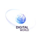 Digital earth concept symbol Stock Photo