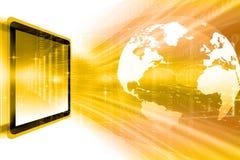 Digital Earth , globe Stock Image