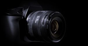 Digital Einzelnobjektiv Reflexkamera Stockbild