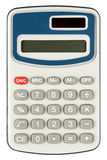 Digital, electronic calculator isolated Royalty Free Stock Photo
