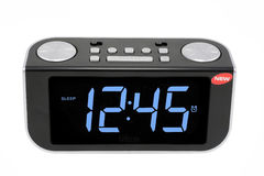 Digital electronic clock Stock Photos