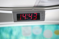 Digital electronic clock Royalty Free Stock Photos