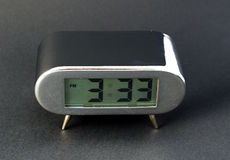 Digital electronic clock Stock Photography