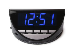 Digital electronic clock Stock Image