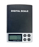 Digital electronic scale Stock Photo