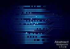 Digital-Entzerrer vektorabbildung ENV 10 Lizenzfreie Stockfotos