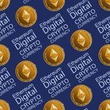 Digital Ephyrium cryptographique illustration libre de droits