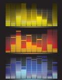Digital Equalizer Stock Photography