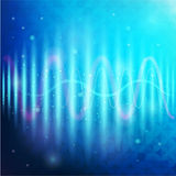 Digital Equalizer. Vector illustration. Royalty Free Stock Photo