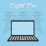 Digital era technology Stock Photo