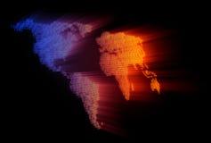 Digital-Erde Lizenzfreie Stockfotografie