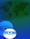 Digital-Erde-Technologie Stockbild
