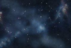 Digital erstelltes starfield Stockbilder