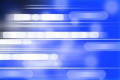 Digital erzeugtes Bild des Blaulichthintergrundes Lizenzfreies Stockbild