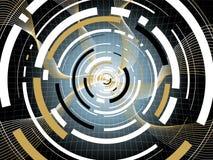 Digital espace blk Royalty Free Stock Photo