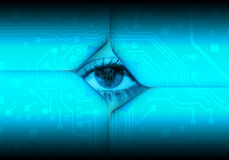 Digital eye Stock Images