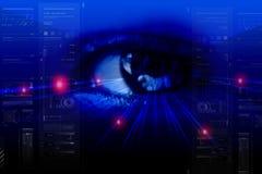 Digital eye Royalty Free Stock Images