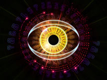 Digital eye Stock Photo