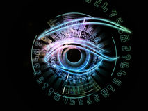 Digital eye Royalty Free Stock Photos