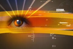 Digital eye Royalty Free Stock Image