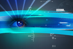 Digital eye Royalty Free Stock Photography