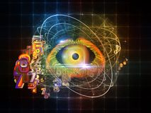 Digital Eye Royalty Free Stock Photo