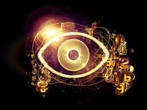 Digital Eye Royalty Free Stock Images