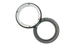 digital f8orlängningscirkel för kamera Arkivfoto