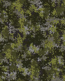 Digital fashionable camouflage pattern Royalty Free Stock Images