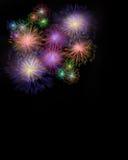 Digital-Feuerwerke Stockfotos