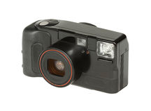 Digital film camera Stock Photo
