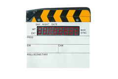Digital Film Slate Royalty Free Stock Photos