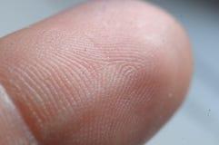 Digital finger Royaltyfri Foto