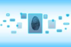 Digital Fingerprint Stock Image