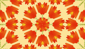 Digital Floral Pattern Royalty Free Stock Image
