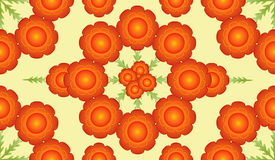 Digital Floral Pattern Royalty Free Stock Photo