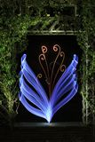 Digital Flower made in man-made nature. Flowers are amazing. Either made by nature or constructed by man Stock Photos