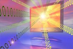 Digital-Flug Lizenzfreies Stockfoto