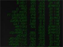 digital flygskärm Arkivbild