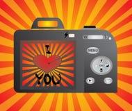 Digital-Fotokamera Lizenzfreie Stockbilder