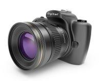 Digital-Fotokamera. Ikone 3D   Stockbilder